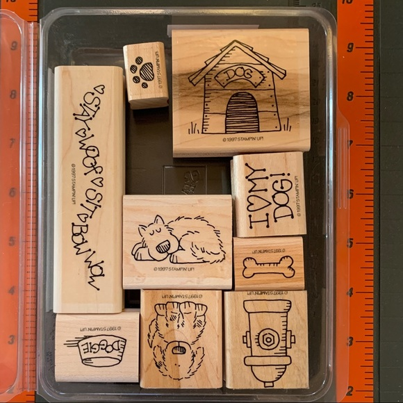 Stampin' Up! BOW WOW